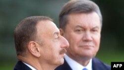 İlham Əliyev və Viktor Yanukovych