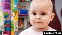 Two-year-old Liza Gracheva needs a bone-marrow transplant.