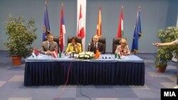 Министерска средба во Охрид.