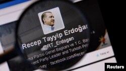 Erdoğanın oz hesabı