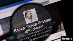 """""""Твиттерде"""" Эрдоганды 4 млн.дон ашуун адам окуйт."""