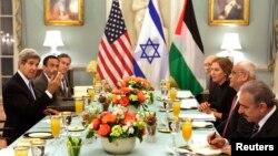 Večera prije nastavka bliskoistočnih mirovnih razgovora