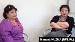 ნინო გუნია-კუზნეცოვა (მარცხნივ) და თამარ ბოკუჩავა.