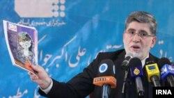 Ali Akbar Javanfekr, the chief of Iran's official IRNA news agency and a top media adviser to President Mahmud Ahmadinejad (file photo)