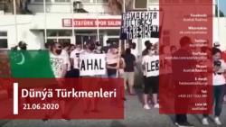Daşary ýurtlarda türkmenistanlylaryň geçirýän soňky mitingleri we sosial media