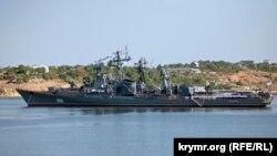 Сторожевой корабль Черноморского флота России «Сметливый», архивное фото
