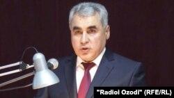 Генерал Шариф Назарзода, сардори Раёсати умури дохилии Душанбе