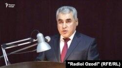 Шариф Назарзода, начальник УМВД города Душанбе