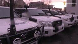Великобританія передала 10 броньованих автомобілів місії ОБСЄ в Україні