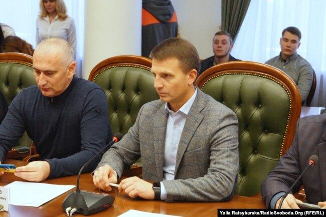 Гліб Пригунов (праворуч)
