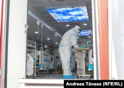 """Unitatea ATI mobilă de la """"Marius Nasta"""" are opt pacienți."""