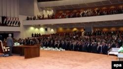 مجلس النواب العراقي في جلسته الإفتتاحية
