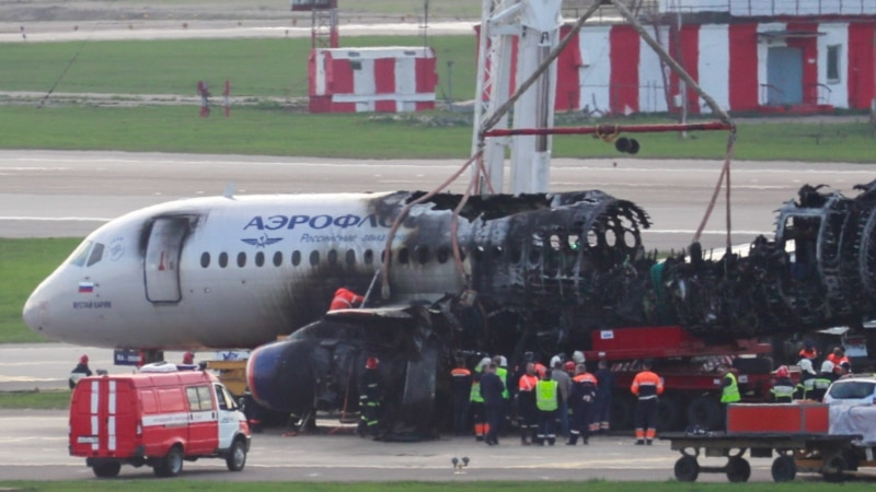 Russian Investigators Say Superjet Crash Caused By Lightning