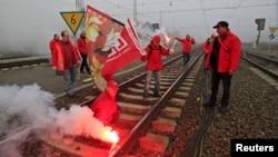 У Эўразьвязе страйк супраць жорсткай эканоміі