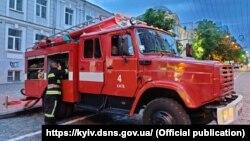 Причина пожежі поки що невідома