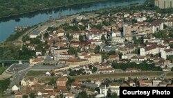 Pogled na grad Brčko