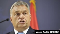 """Hungarian Prime Minister Viktor Orban authored an opinion piece that appeared on October 1 arguing that people had """"a duty"""" to help him resist the """"liberal methods"""" practiced by the """"Brussels elite."""""""