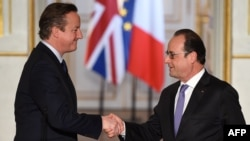 Francois Hollande və David Cameron