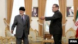 دیدار علی شمخانی، دبیر شورای عالی امنیت ملی ایران با یوسف بن علوی، وزیر خارجه عمان