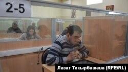 Миграционный центр в пригороде Москвы.