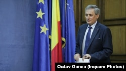 Romania- Marcel Vela -Minister of internal affairs- 10 August press conference