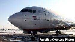 """Один из самолетов Boeing компании """"Аэрофлот"""""""