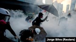 Антиурядові протести в Гонконгу почалися в червні 2019 року і тривали кілька місяців