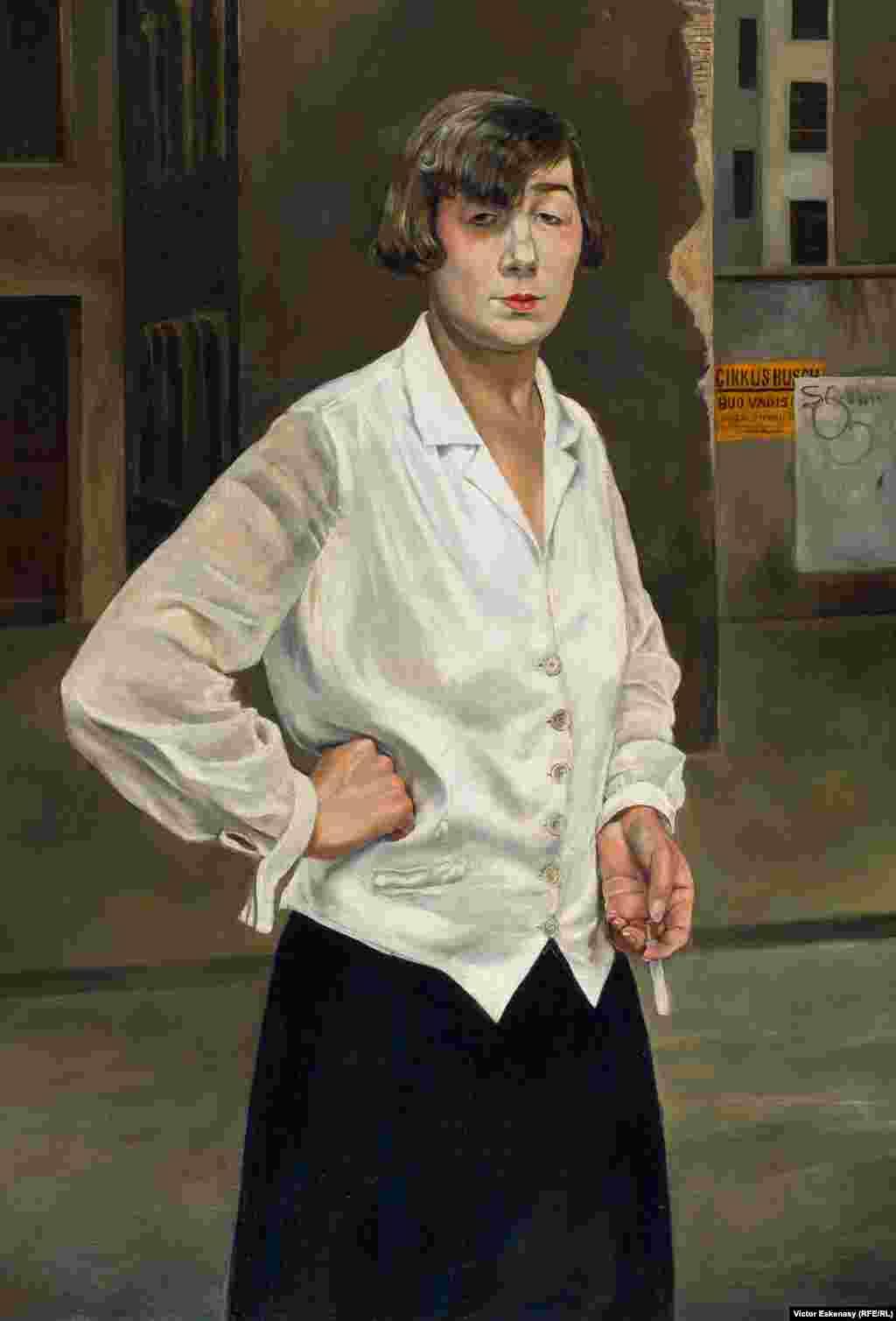 Rudolf Schlichter, Margot, 1924.