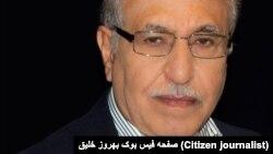 بهروز خلیق، مسئول هيئت سياسی ـ اجرائی سازمان فدائيان خلق ايران (اکثريت)