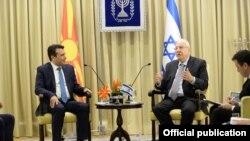 Израел-Македонскиот премиер Зоран Заев се сретна со израелскиот претседател Руевен Ривлин, 03.09.2017