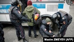Задержания в Москве