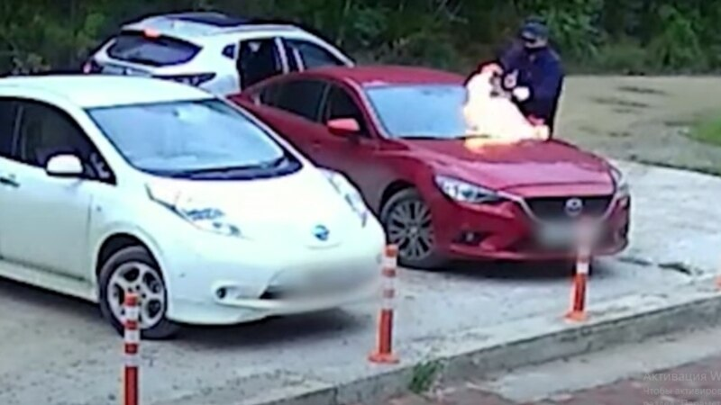 В Иркутске задержаны подозреваемые в поджоге автомобиля с 6-летней девочкой