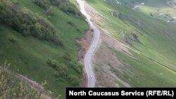На границе между Ингушетией и Чечней снова неспокойно
