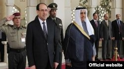 المالكي في زيارة للكويت 14 آذار 2012