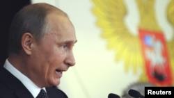 Președintele Rsuiei, Vladimir Putin