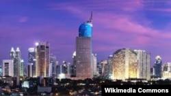 Индонезиянын баш калаасы Жакарта шаары.