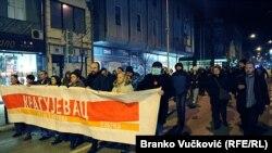 """Sa protesta """"1 od 5 miliona"""" u Kragujevcu, fotoarhiv"""