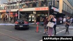 Місце інциденту в Мельбурні, 21 грудня 2017 року