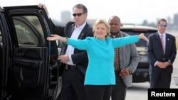 Хиллари Клинтон, кандидат в президенты США от Демократической партии.