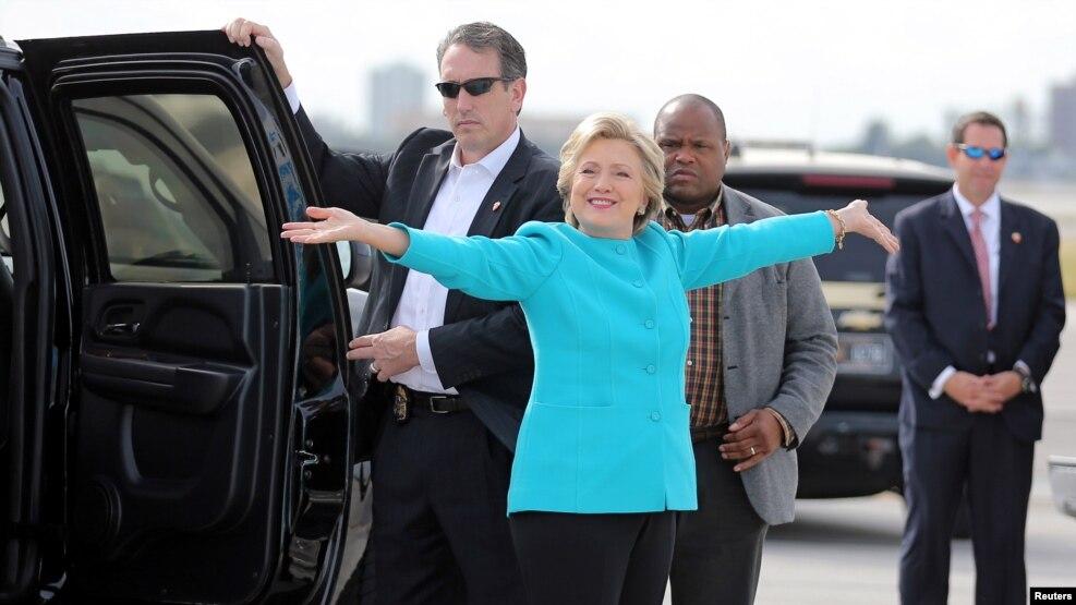 Klinton yenidən çətin durumda?