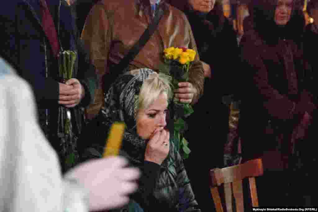 Дружина Дениса Вороненкова, оперна співачка, також колишній депутат Державної думи Марія Максакова