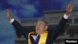 La Astana după anunțarea rezultatelor alegerilor prezidențiale