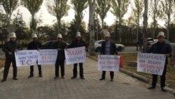 Бішкектегі белсенділер Назарбаевқа хат тапсырды