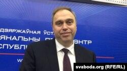 Міністар здароўя Беларусі Ўладзімер Каранік.