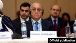Ադրբեջանի կրոնական կառույցների հետ աշխատանքի հարցերը կարգավորող հանձնաժողովի նախագահ Մուբարիզ Ղուրբանլի, արխիվ