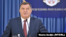 Republika Srpska President Milorad Dodik has voiced opposition to NATO, the EU, and U.S. influence in the Balkans.