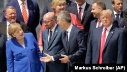 Lideri na samitu NATO-a 2018. u Briselu