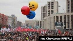 """Оппозициянын """"Миллиондор маршы"""", Москва, 15-сентябрь, 2012"""