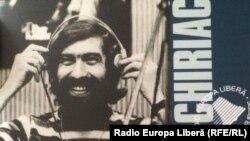 Detaliu de pe coperta discului compact comemorativ lansat de Radio Europa Liberă în martie 2005, la 30 de ani de la asasinarea lui Cornel Chiriac.