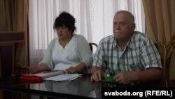 Ірына Яскевіч і Леў Марголін